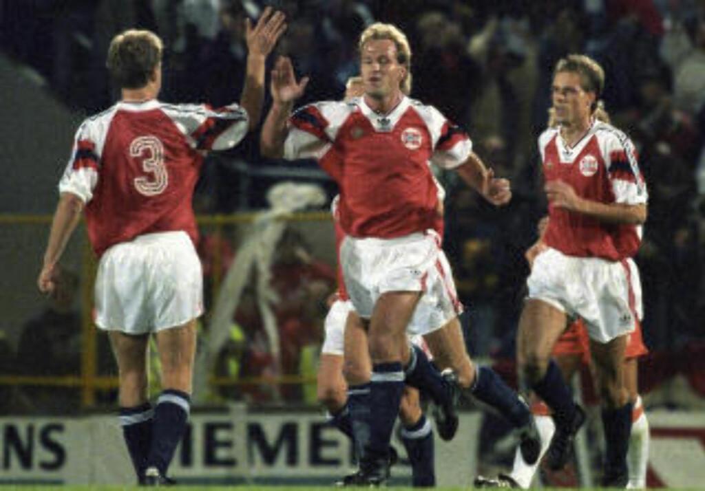 5: Norge banket Nederland i 1993. Foto: NTB Scanpix