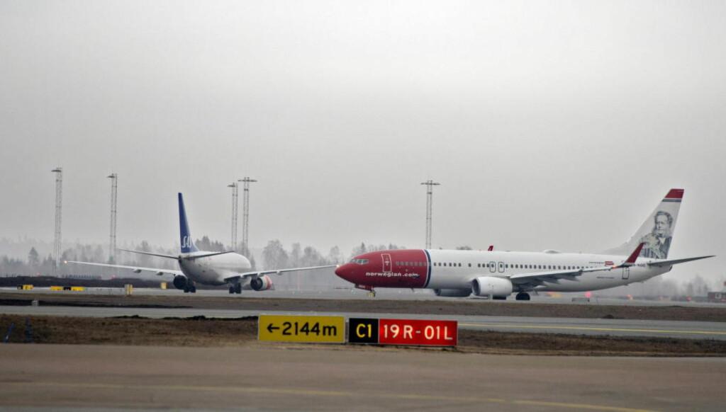 FLERE FLYR UTENLANDS:  4,6 millioner mennesker fløy til og fra 46 norske flyplasser i september. Foto: ESPEN BRAATA