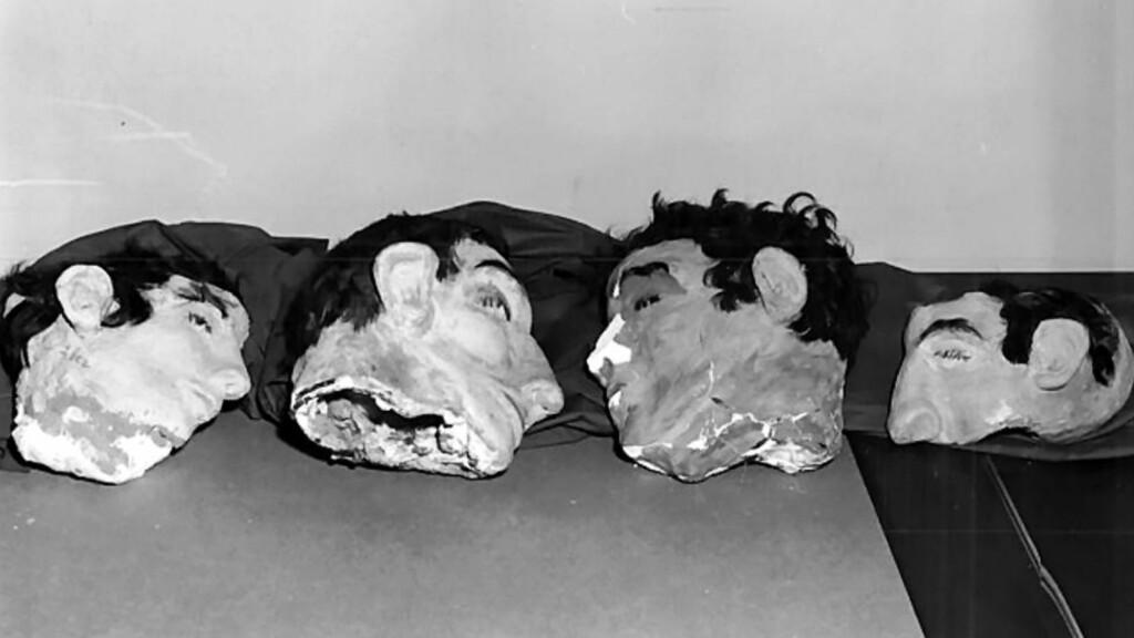 LAGDE MASKER: I 1962 klarte Clarence Anglin, John Anglin og Frank Morris å rømme fra Alcatraz ved å blant annet legge igjen ansiktsmasker på cellene. Nå mener den tidligere etterforskningslederen Art Roderick at ferske spor kan kaste nytt lys over den mystiske forsvinningen og hvor det ble av fangene. Foto: Reuters / NTB Scanpix