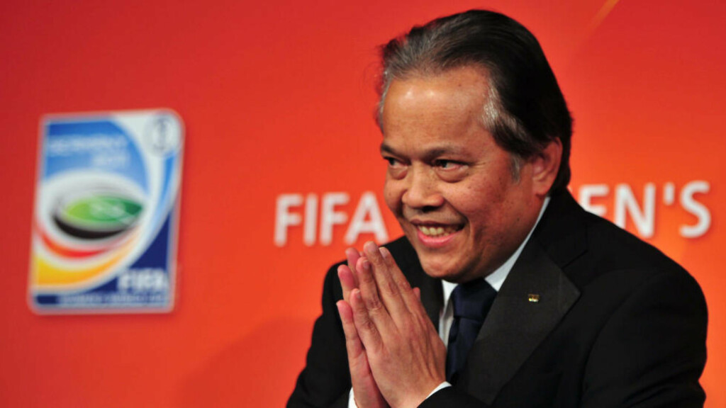 SUSPENDERT: Thailands fotballpresident, Worawi Makudi, har blitt suspendert av FIFA. Foto: NTB Scanpix