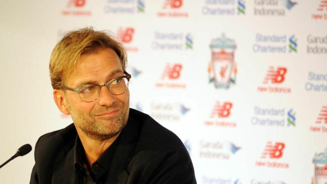 LIVERPOOL-HÅP: Liverpool-manager Jürgen Klopp beklager og sier han ikke mente å si noe negativt om Sveits på sin pressekonferanse før helga. Foto: EPA/Phil Richards