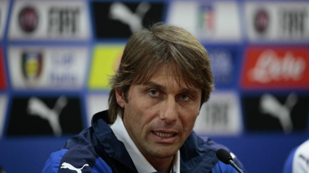 HOLDT PRESSEKONFERANSE:  Antonio Conte.