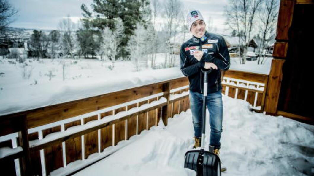 <strong>SKUFFER:</strong> Eldar Rønning er inne i skuffende tider som langrennsløper. Foto: Thomas Rasmus Skaug / Dagbldet