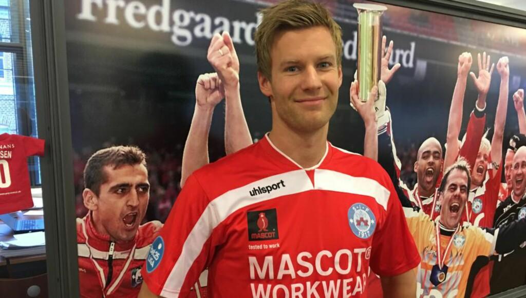 TIL DANSK FOTBALL: Ulrik Flo (27) er klar for danske Silkeborg. Foto: IF Silkeborg