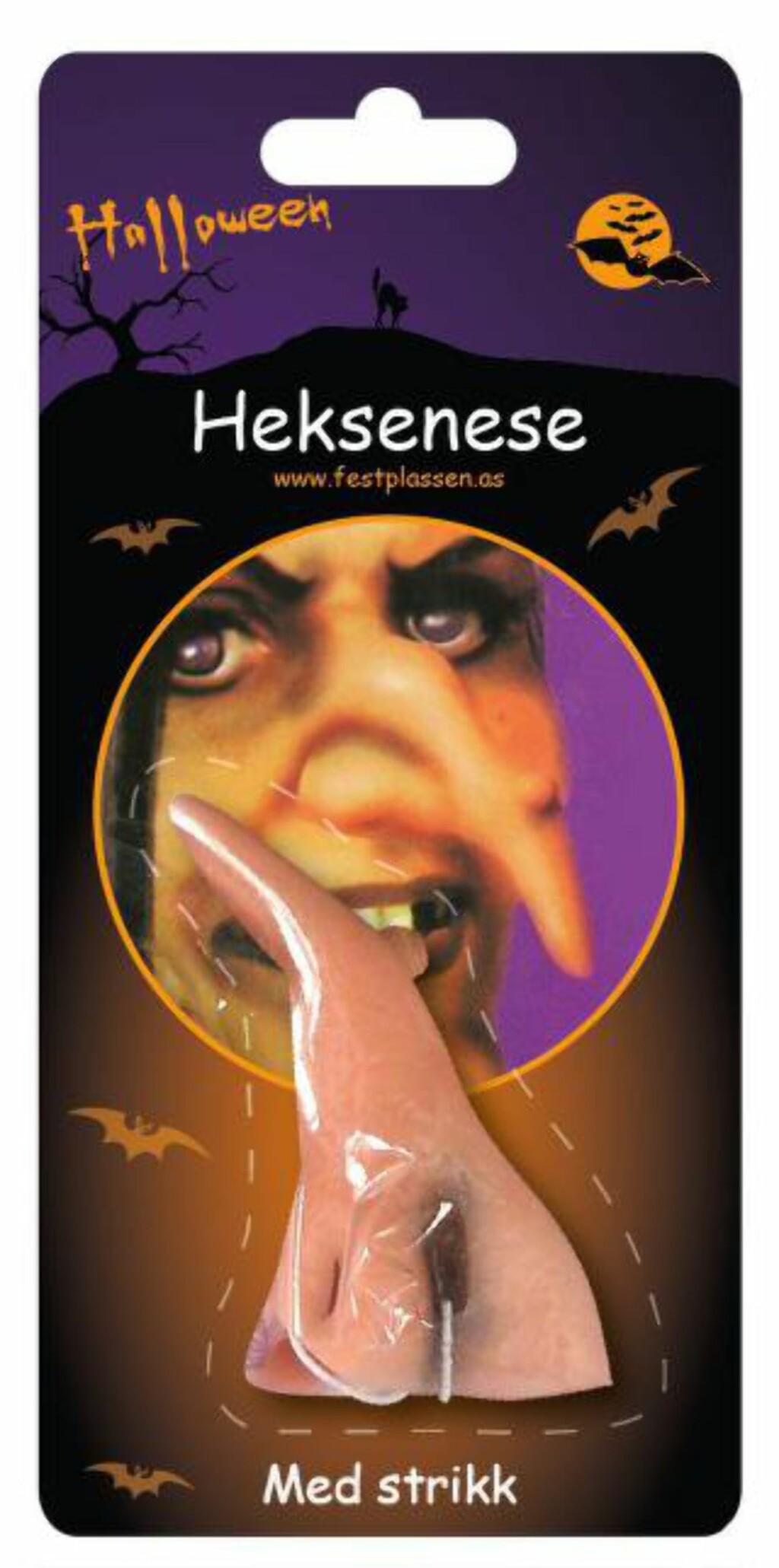 SLIK SER DEN UT: Heksenese-forpakningen. Foto: Festplassen / NTB scanpix