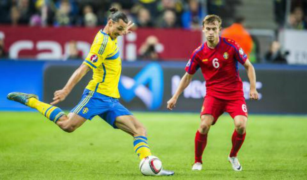 SVENSK HELT:  Zlatan Ibrahimovic. Foto: Peter Wixtröm / Aftonbladet / NTB Scanpix