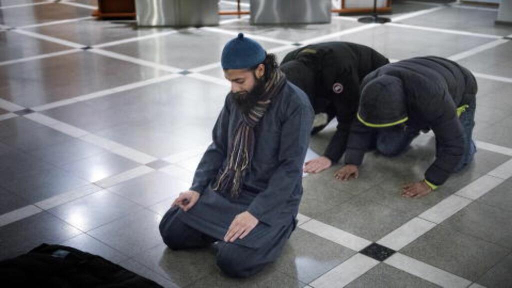 TALSPERSON: Ubaydullah Hussain er talsperson for den islamistiske gruppa Profetens Ummah. Foto: Øistein Norum Monsen / DAGBLADET
