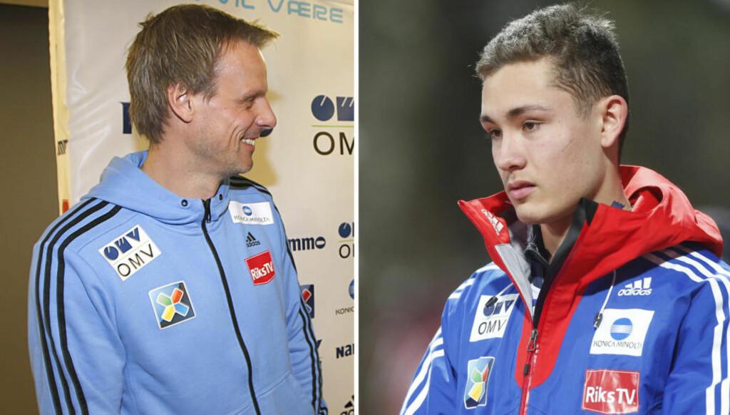 FOR MYE PRESS:  Phillip Sjøen har trukket seg tibake fra landslaget. Landslagstrener Alexander Stöckl håper Sjøen kommer tilbake. Foto: NTB Scanpix.