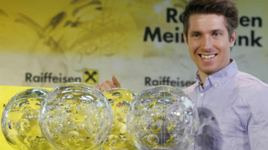 FIRE PÅ RAD:  Marcel Hirscher har vunnet verdenscupen sammenlagt de fire siste årene. Foto: REUTERS/Leonhard Foeger/NTB Scanpix.