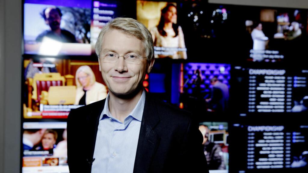ALVORLIG: TV 2-direktør Olav Terjeson Sandnes sier at han tar funnene til Arbeidstilsynet på alvor. Foto: Paul S. Amundsen/NTB scanpix.