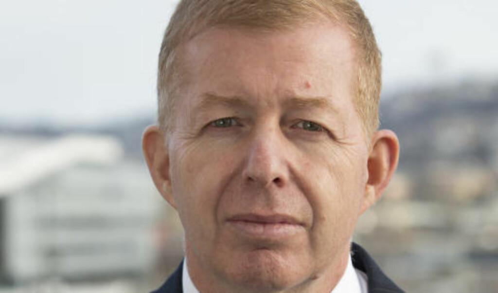 PROTESTERER:  Raphael Schutz, Israels nye ambassadør til Norge, er skuffet over Fredrik Græsviks uttalelser om Israel-Palestina-konflikten. Foto: Erlend Aas / NTB scanpix