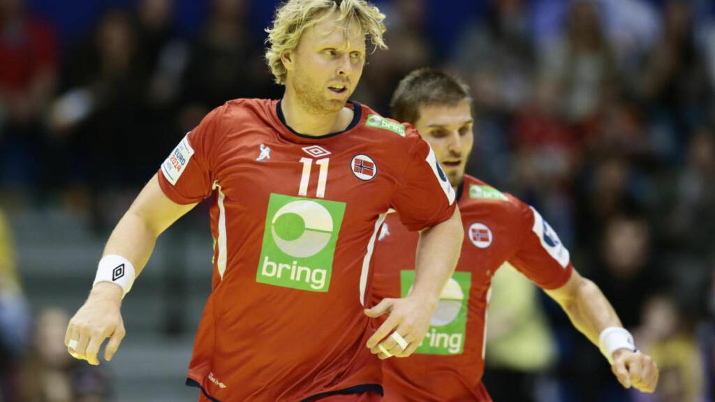 TILBAKE: Erlend Mamelund er tilbake på håndballandslaget. Han skal spille for Norge i Golden League i november. Foto: Håkon Mosvold Larsen / NTB scanpix