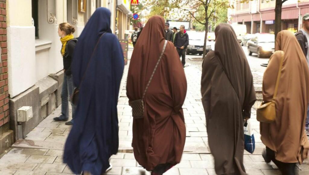 ØKT ANDEL: I løpet av de siste 15 årene har andelen Oslo-borgere med innvandrerbakgrunn økt med 13 %, og på Stovner har 53 % innvandrerbakgrunn.  Foto: Bjørn Rørslett / NN / Samfoto