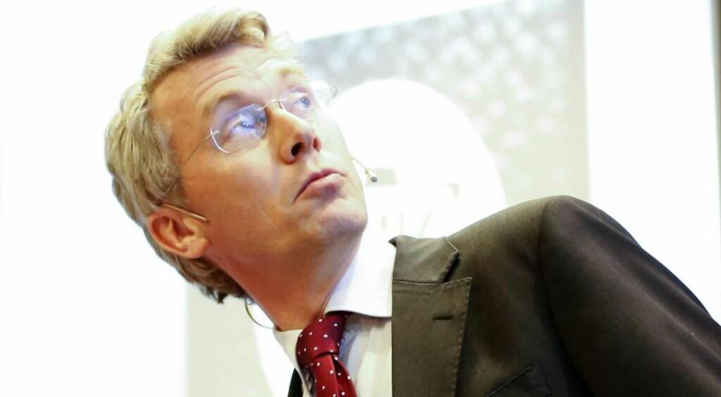 VIL BLI BEDRE: TV 2-sjef Olav T. Sandnes sier til Dagbladet at ledelsen i kanalen nå tar tak i kritikken de har fått av Arbeidstilsynet.