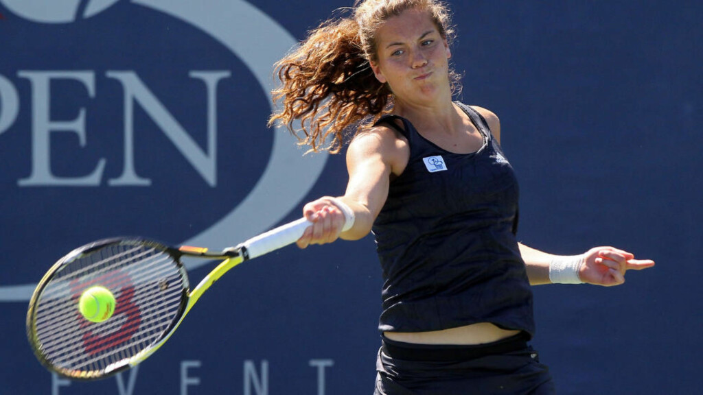 I FORM: Ulrikke Eikeri slo torsdag tredjeseedede Barbora Krejcikova fra Tsjekkia i en 25 000-dollarturnering i tennis i South Carolina i USA. Foto: Jim McIsaac/Getty Images/AFP