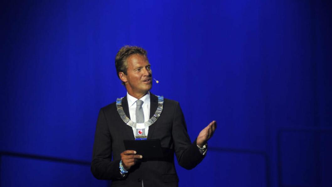 <strong>GÅR AV:</strong> Jens Johan Hjort (H) hadde i går sin siste dag som ordfører i Tromsø. I den forbindelse har han skrevet et åpent brev til statsminister Erna Solberg hvor han går kraftig ut mot utlendingsmyndighetene. Foto: Rune Stoltz Bertinussen / NTB scanpix