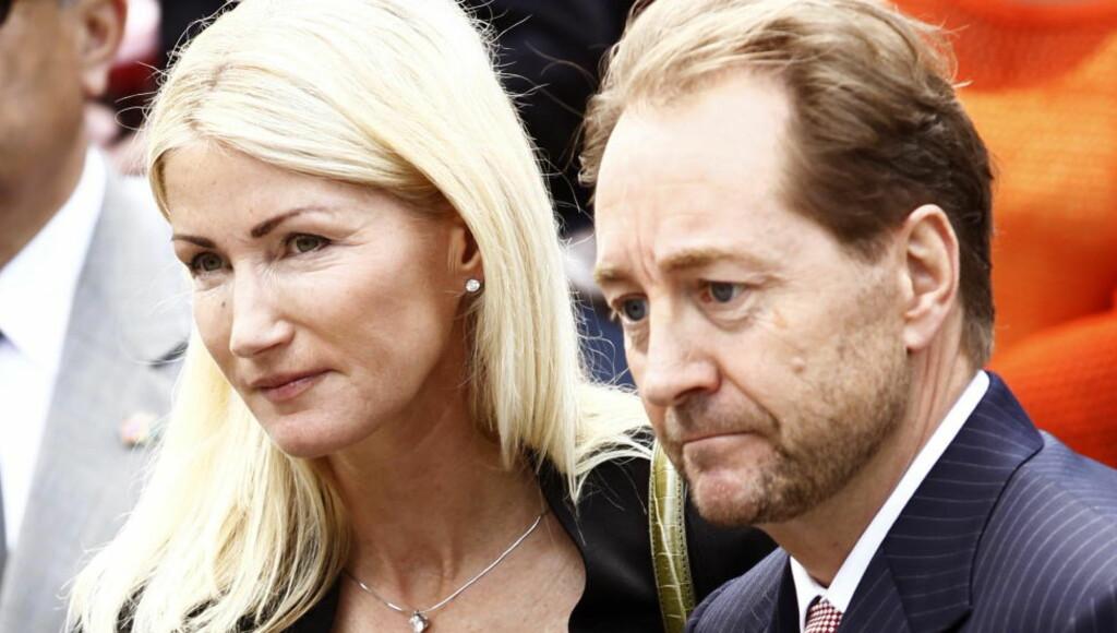 FORMUENDE: Anne Grete Eidsvig og Kjell Inge Røkke er tilsammen god for 11 milliarder kroner, men har ingen inntekt. Foto: Lise Åserud / NTB scanpix