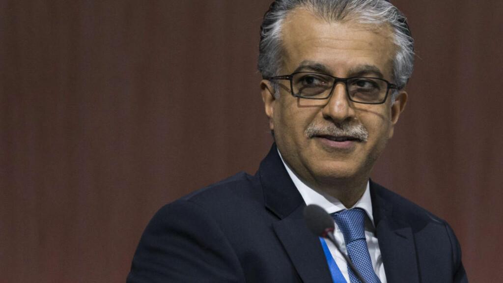 VIL BLI FIFA-PRESIDENT: Presidenten i Det asiatiske fotballforbundet, Shaikh Salman bin Ebrahim al Khalifa, har planer om å melde seg som kandidat til å bli ny FIFA-president. Foto: Patrick B. Kraemer/Keystone/AP