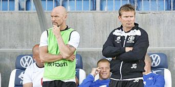 image: Dempsey tar over treneransvaret i Haugesund allerede fire runder før slutt