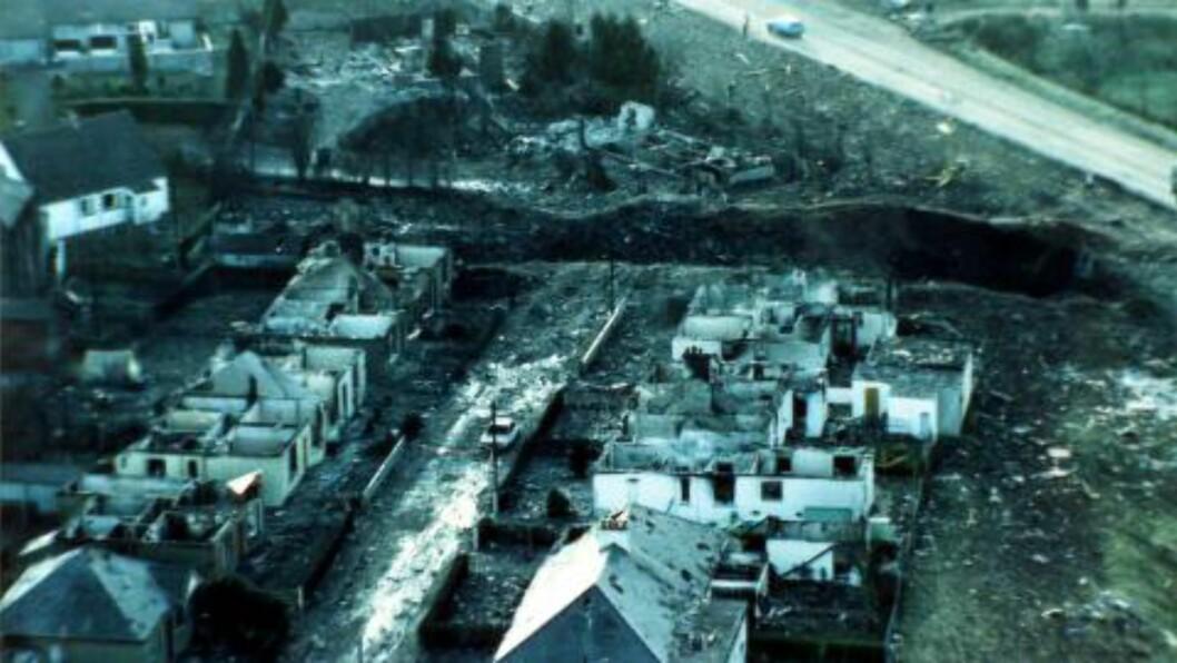 270 DØDE:  Pan Ams fly 103 etterlot seg en kraterlignende flenge. Ap Photo