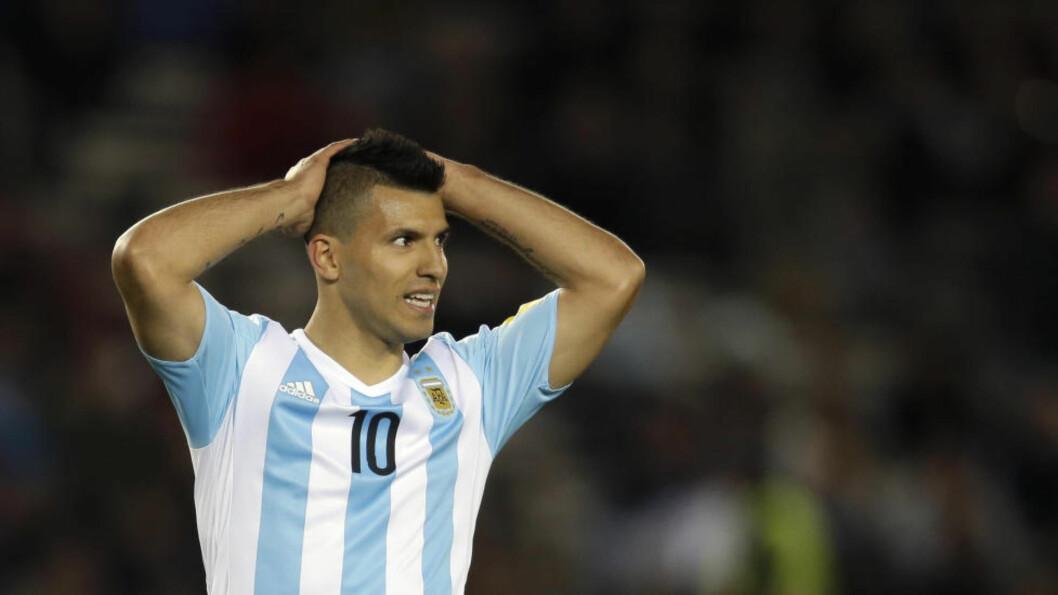 SKADET: Manchester City må klare seg uten Sergio Agüero, David Silva og Aleksandar Kolarov i hjemmekampen mot Bournemouth lørdag. Foto: AP Photo/Natacha Pisarenko