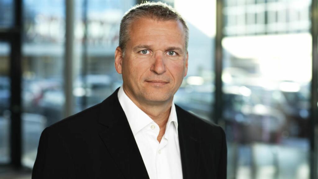 BEKLAGER: Administrerende direktør Terje Male hos Volkswagen-importør Harald A. Møller AS sier unnskyld. Foto: MøllerGruppen