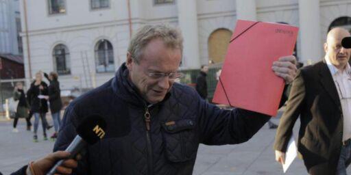 image: Her holder Raymond Johansen fram resultatet av Oslo-forhandlingene