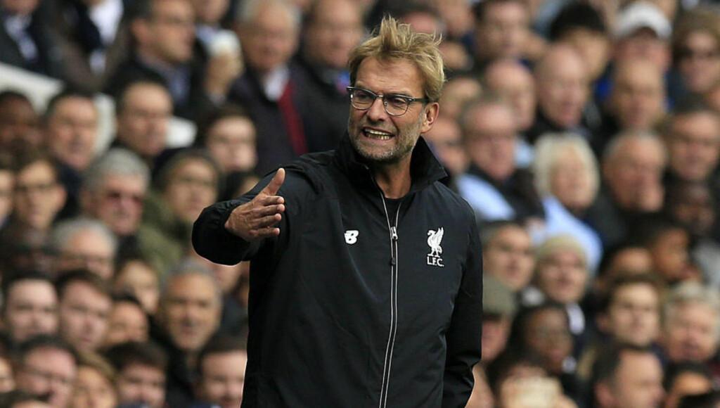 ETT POENG: Det ble ett poeng for Jürgen Klopp i hans første kamp som Liverpool-trener.