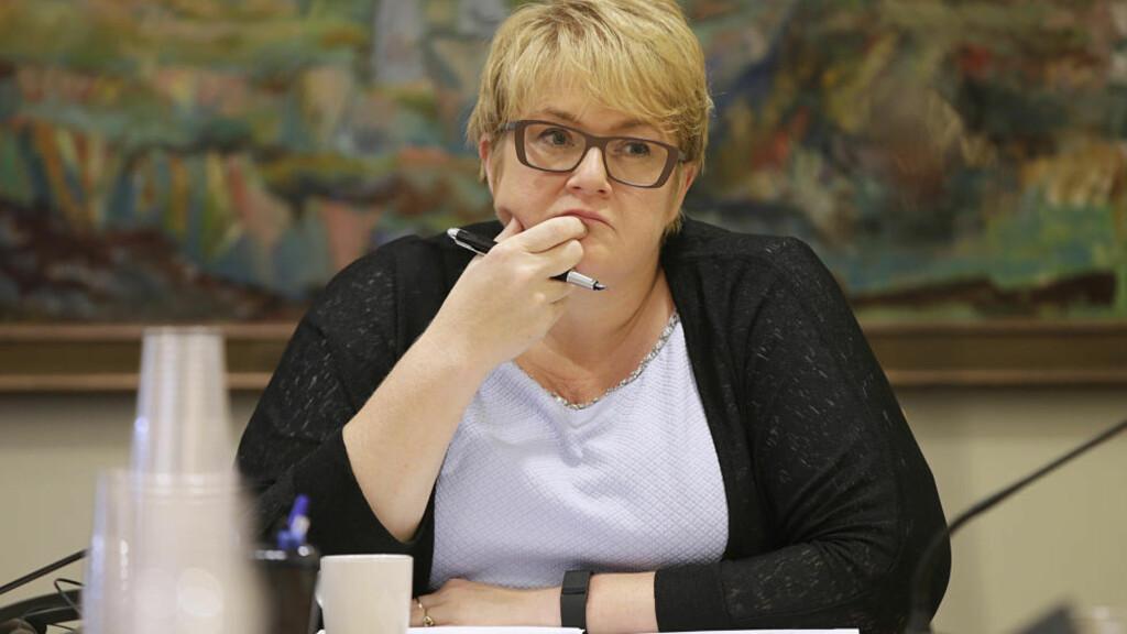 BER OM ENDRET FOKUS: Venstre-leder Trine Skei Grande. Foto: Vidar Ruud / NTB Scanpix