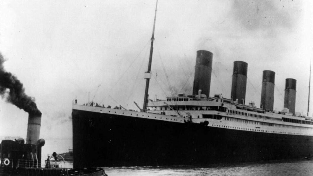 SANK: Mer enn 1500 av de omkring 2200 som var om bord på «Titanic» døde da skipet sank på sin jomfruferd i april 1912. Foto: AP Photo