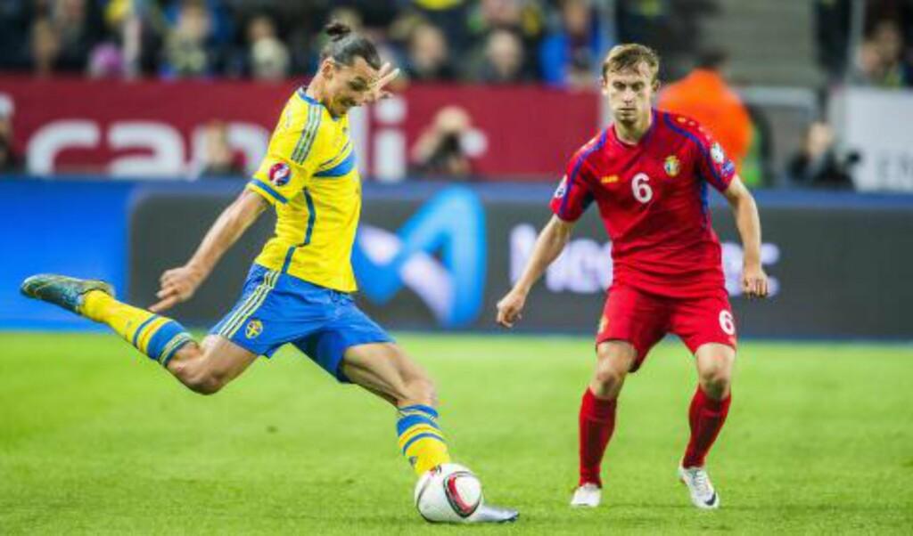KAN FIKSE ALT: Zlatan Ibrahimovic drar på åra, men er fortsatt blant verdens aller beste fotballspillere. Foto: NTB Scanpix