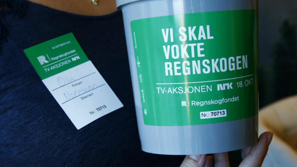 INNSAMLING: TV-aksjonen 2015 går til Regnskogfondets arbeid.  Foto: Håkon Mosvold Larsen / NTB scanpix