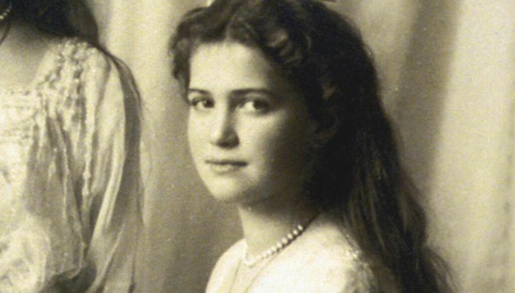 RUSSISK STORHERTUGINNE: Maria Romanova er hovedpersonen i Kari Brænnes nye roman, som forteller historien om hva som kan ha skjedd dersom hun overlevde henrettelsen av tsarfamilien. Foto: Scanpix.