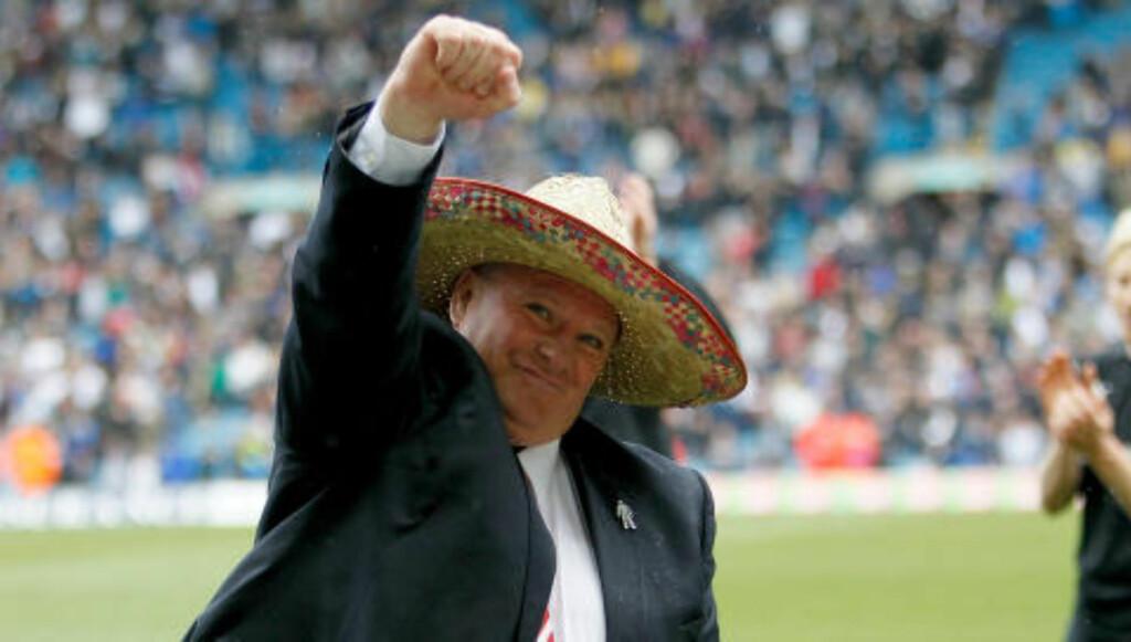 FAVORITT: Tidligere Rotherham-manager Steve Evans er favoritt til å ta over Leeds. Foto: NTB Scanpix