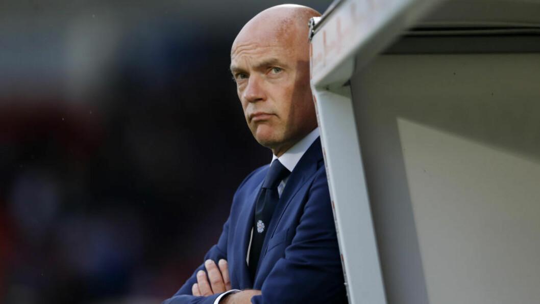 <strong>FERDIG:</strong> Uwe Rösler er ferdig som manager i Leeds United etter bare noen få måneder i jobben. Foto: Action Images / Lee Smith / NTB Scanpix