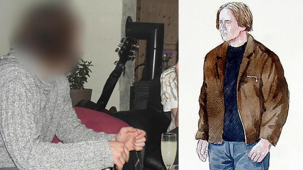 KJENTE SEG IGJEN: Den 36 år gamle mannen som er siktet for drapet på Tina Jørgensen forteller på et av opptakene som er levert til politiet at han så denne fantomtegninga i 2000. På opptaket forteller han at han er nesten helt sikker på at han er mannen på tegninga. Foto: Politiet / Harald Nygård