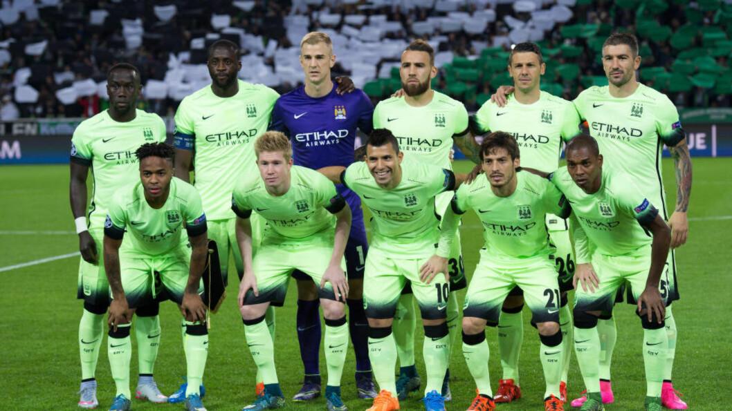 IKKE OVERFLOD AV ENGELSKMENN: Manchester City handler fra øverste hylle på spillermarkedet. Stadig færre engelskmenn er der.Foto: Marius Becker/DPA/NTB Scanpix