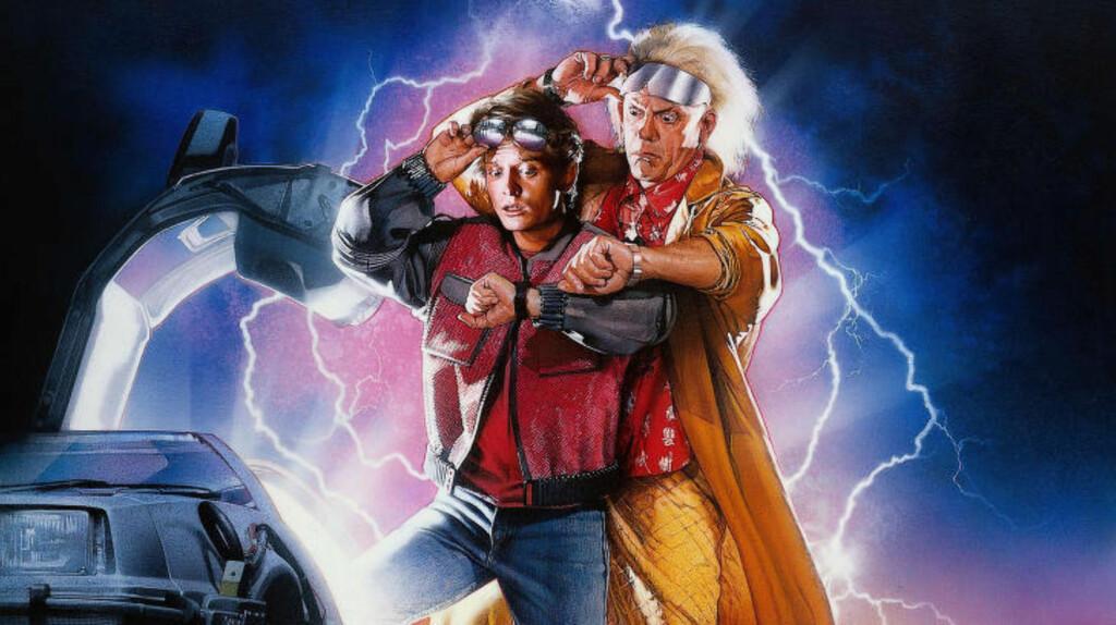 FREM TIL I DAG: 21. oktober er datoen Marty McFly besøker i «Back to the Future II» fra 1989. Foto: NTB Scanpix