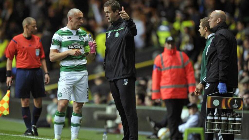 PRESS: Ronny Deila må overbevise som Celtic-manager. AFP PHOTO / ANDY BUCHANAN