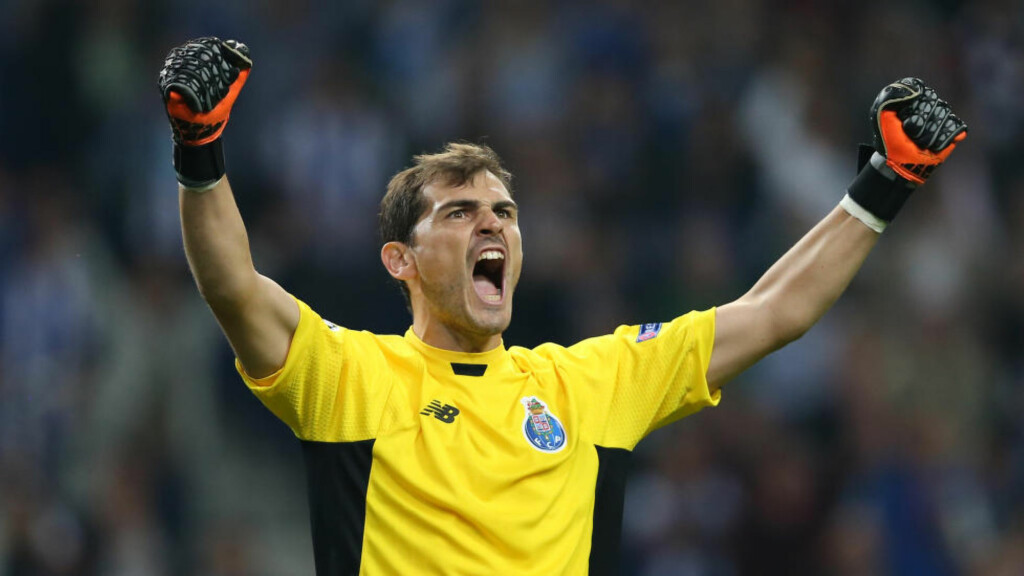NY REKORD:  Ike Casillas holdt nullen for 51. gang i Champions League. Foto: AP Photo/Steven Governo/NTB Scanpix.