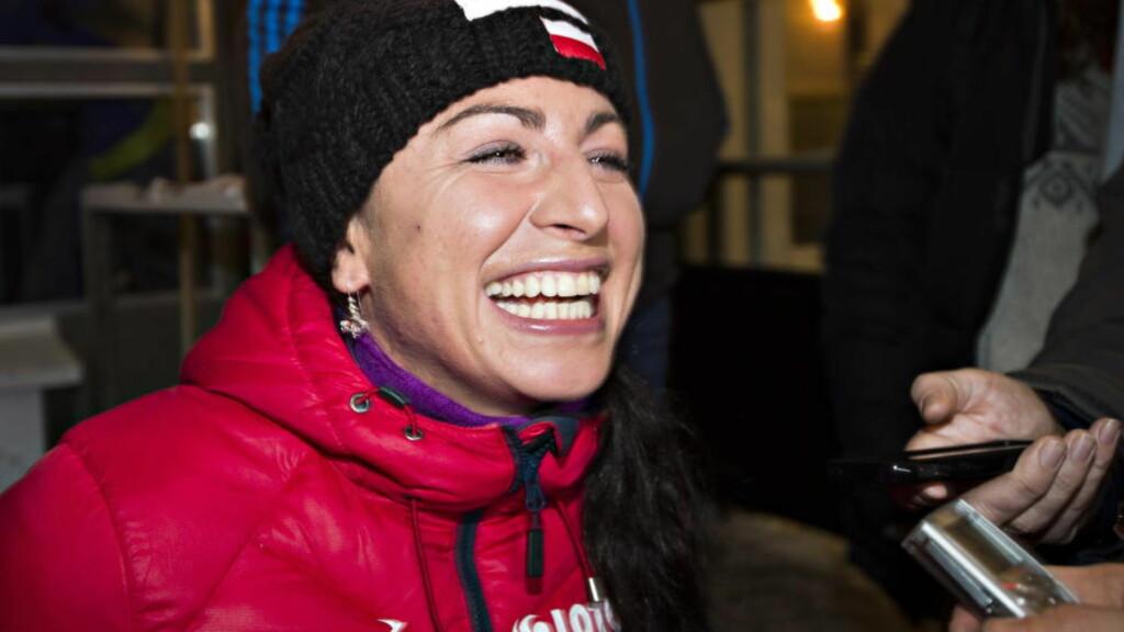 VIL HA MED MARIT: Justyna Kowalczyk satser mot OL i 2018 og håper Marit Bjørgen fortsatt vil inspirere henne fram dit. Foto Hans Arne Vedlog / Dagbladet