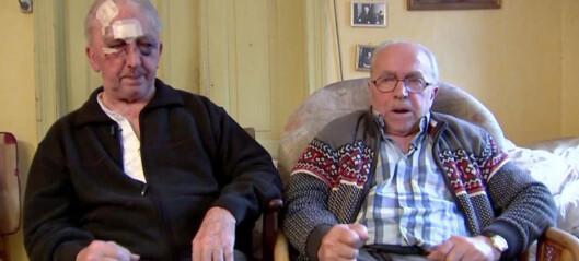 Væpnede ranere angrep brødrene Jens (85) og Peter (81) - det fikk de angre på