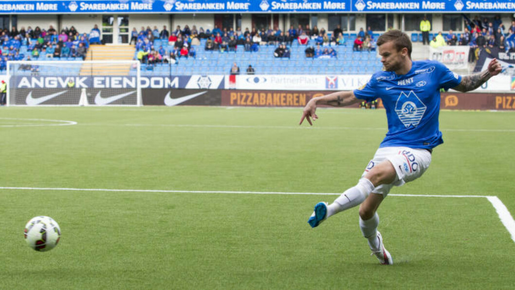 <strong>GLAD:</strong> Knut Olav Rindarøy og resten av Molde-spillerne er svært glad for at Ole Gunnar Solskjær er tilbake. Foto: Svein Ove Ekornesvåg / NTB scanpix