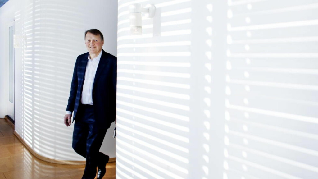 Rune Bjerke: Legger frem et nytt milliardresultat for DNB. Foto: Agnete Brun / Dagbladet