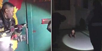 image: Brannmenn måtte bryte seg inn i barnehage for å hente gjenglemt ettåring