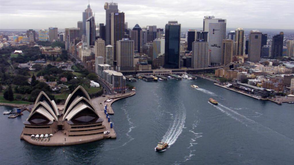 BEST RYKTE: Sydney er den byene i verden med best rykte, ifølge omdømmeinstituttet Reputation Institutes årlige undersøkelse. Foto: MARK BAKER / REUTERS / NTB SCANPIX