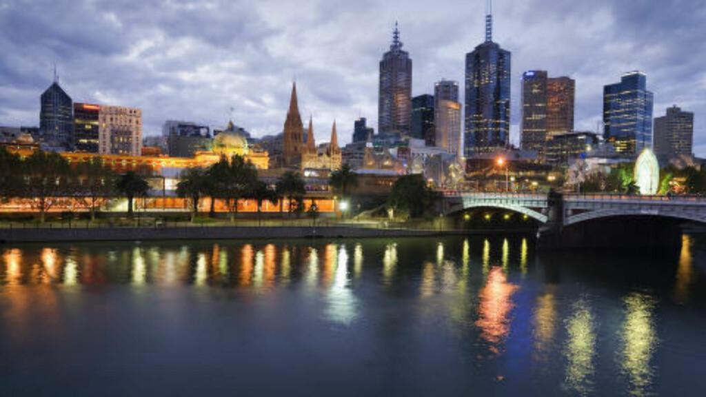 MELBOURNE: Australia har to byer på de to øverste plassene. Melbourne tar andreplassen. Foto: ANDREW WATSON / CORBIS / NTB SCANPIX