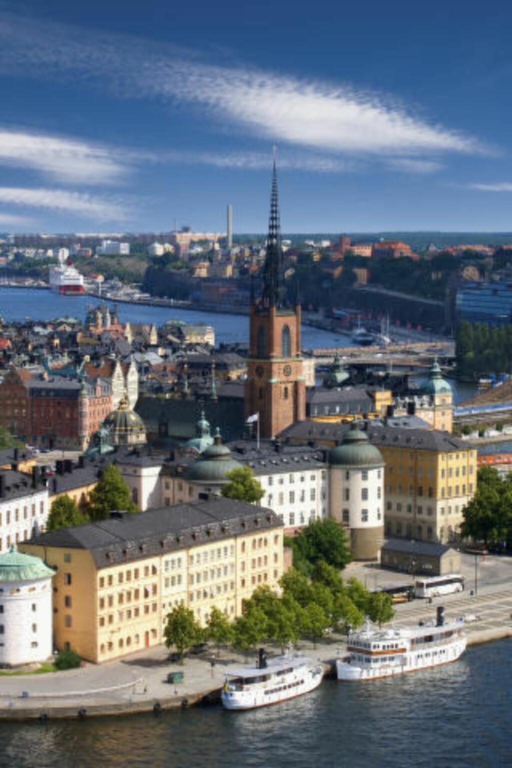 NUMMER TRE: Stockholm har tredje best rykte i verden, ifølge omdømmeinstituttet Reputation Institute. Foto: JEAN-PIERRE LESCOURRET / CORBIS / NTB SCANPIX