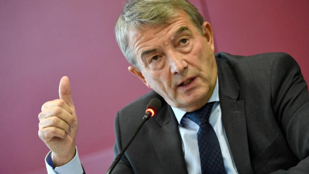 AVVISER STEMMEKJØP: Tysklands fotballpresident sier at pengene som ble betalt inn til FIFA i 2002 ikke ble brukt til å kjøpe stemmer for å få tildelt fotball-VM i 2006. Foto: ARNEDEDERT/dpa