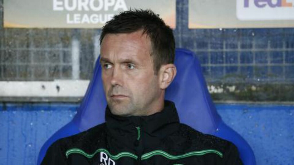 PRESSET: Ronny Deila får kritikk etter nok et Celtic-tap i Europa-sammenheng. Foto: Scanpix
